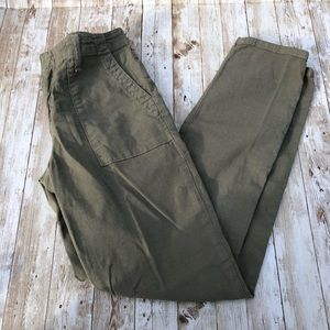 Army Green Joie Cargo Pants